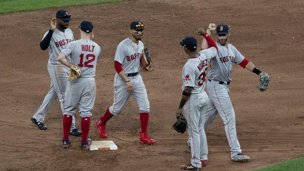 Boston vann igen i baseboll