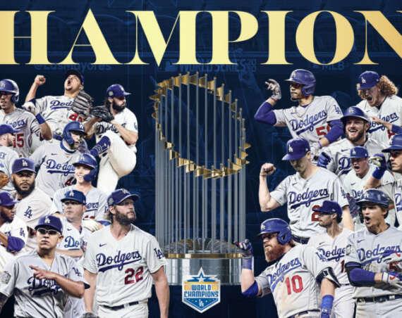 Dodgers mästare World Series